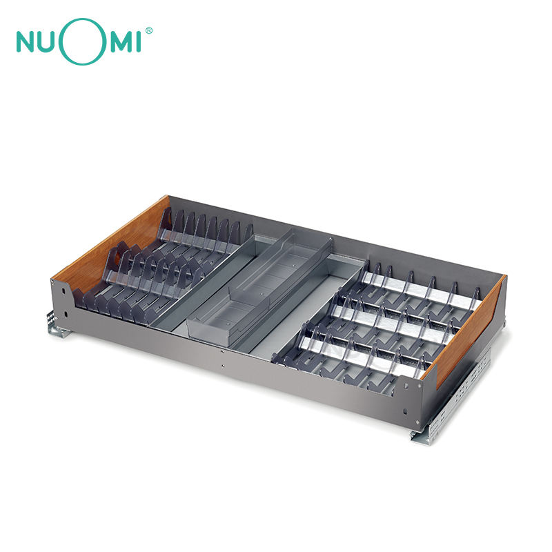 NUOMI New Product Wood Grain Kitchen Multifunctional Drawer Basket MIRAGE Series