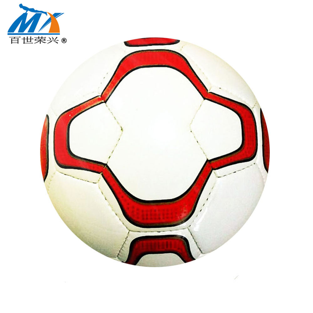 hand sewing football ball size 5 soccer ball pu leather 400g