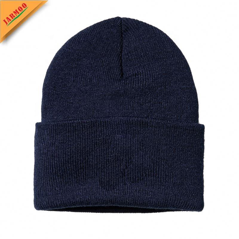 New Men Women Winter Beanie Hats Fanny Police Embroidered Skullies Elastic Knitted caps