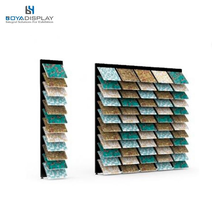 hot-sale mosaic board metallic floor stand for stores