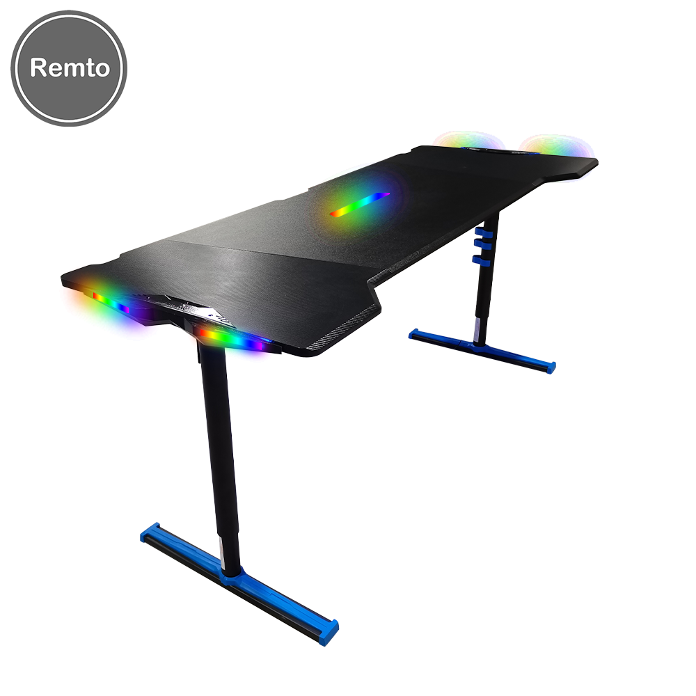 Cheap Factory Price rgb gaming desk for big table for PC computer in low price 2021 new model