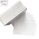 Factory Direct Sale Printable 0.76mm/30mil Portable Printing Glossy Inkjet Cards White Blank Pvc Id Card