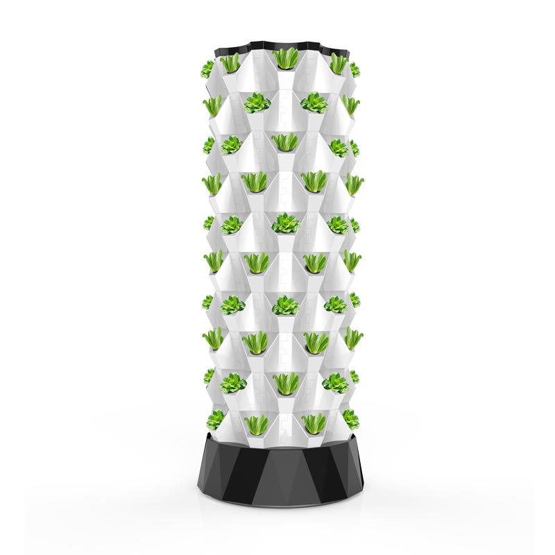 ABS material leaf vegetable net pot hydroponic growing tower