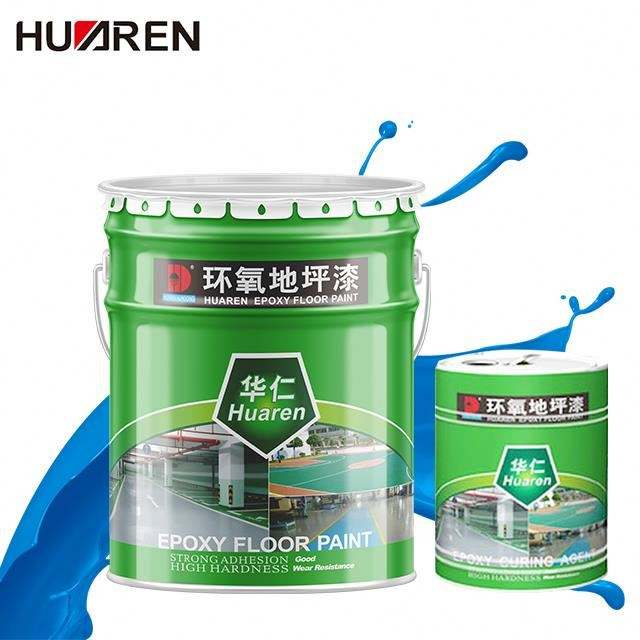 Epoxy Concrete 2 Garage Part Acrylic Interior Shop Coatings Deck Coating Finish Green Slip Resistant Self-Levelling Floor Paint