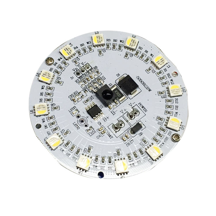 SMD DIP OEM ODM Custom FREE High Power AC DC 220V 24V 5052 HASL Fr4 94v0 led quantum board lm561c pcb