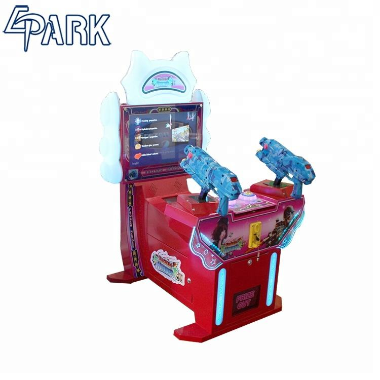 Frozen man shooting game coin operated portable game console coin amusement game machine entertainment
