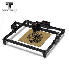 TWOTREES Aluminum alloy 2.5W 5.5W 30x40cm cutting machine cnc engraving machine CNC DIY mini laser cnc engraving machine