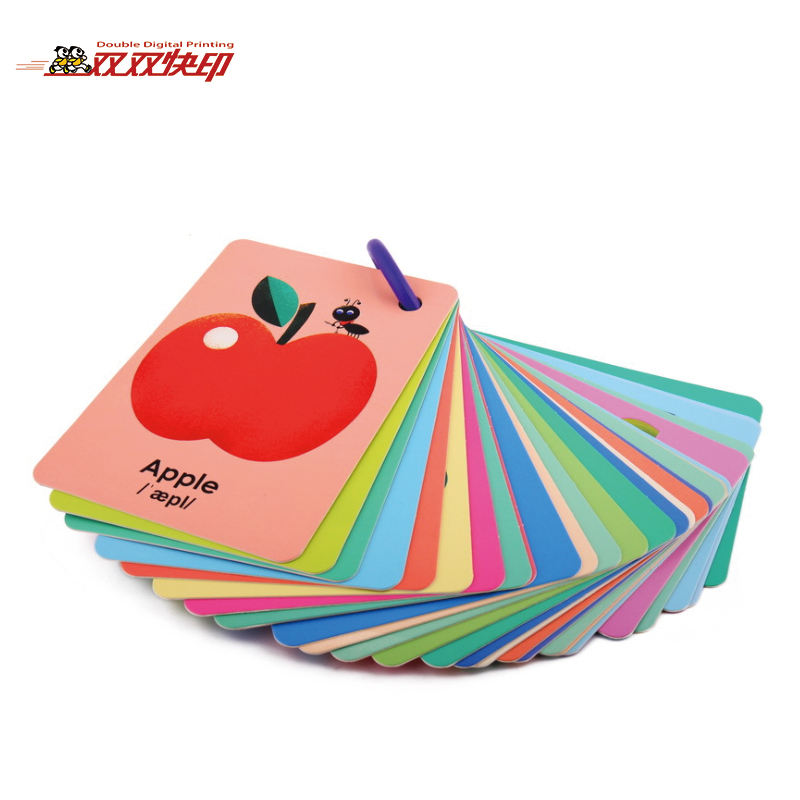 High Quality Low Price Custom popular memory educational baby toys flash cards for kids