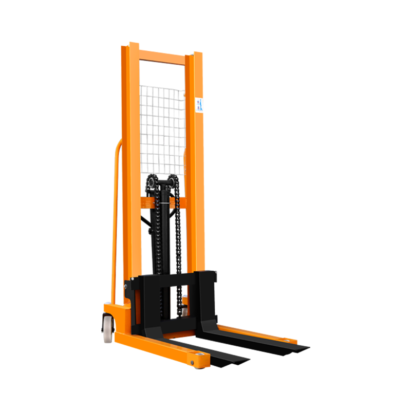 1 TON/ 2 TON Hand Winch Stacker with Hydraulic Pump, Truck Mounted Forklift For ONE Year Warranty