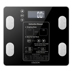 AW938 180kg/100g Digital Body Fat Scale Practical Weight Health Scale Electronic Weighing Scale for Home