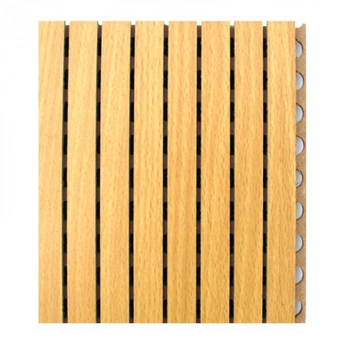 Wood [ Sound Absorbing ] Mdf Melamine Felt Acoustic Panel Manufacturers Wood Sound Absorbing Panel For Acoustic Solution