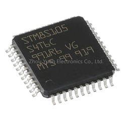Integrated Circuits STM8S105S4T6C STM8S105S4T6 32-Bit Microcontrollers IC MCU 32BIT 64KB FLASH LQFP-48