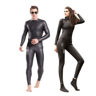 Professional diving suit triathlon light leather surfing suit to keep warm for men and women sunscreen waterproof 3mm gel coat