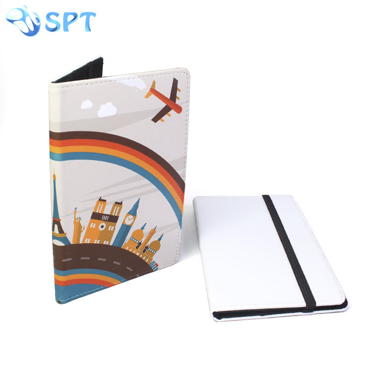 Travel wallet type sublimation printed passport holder case