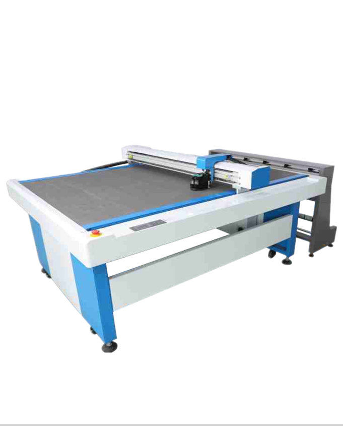 Jindex Continuous Flatbed Inkjet Cutter High Quality Kraft Paper Cutting Machine