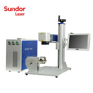 3D dynamic color / Free Shipped Raycus fiber laser marker laser marking machine ipg source for metal and plastic
