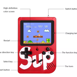 Good quality 400 in 1 SUP wholesale game controller handheld family game console for Christmas gifts