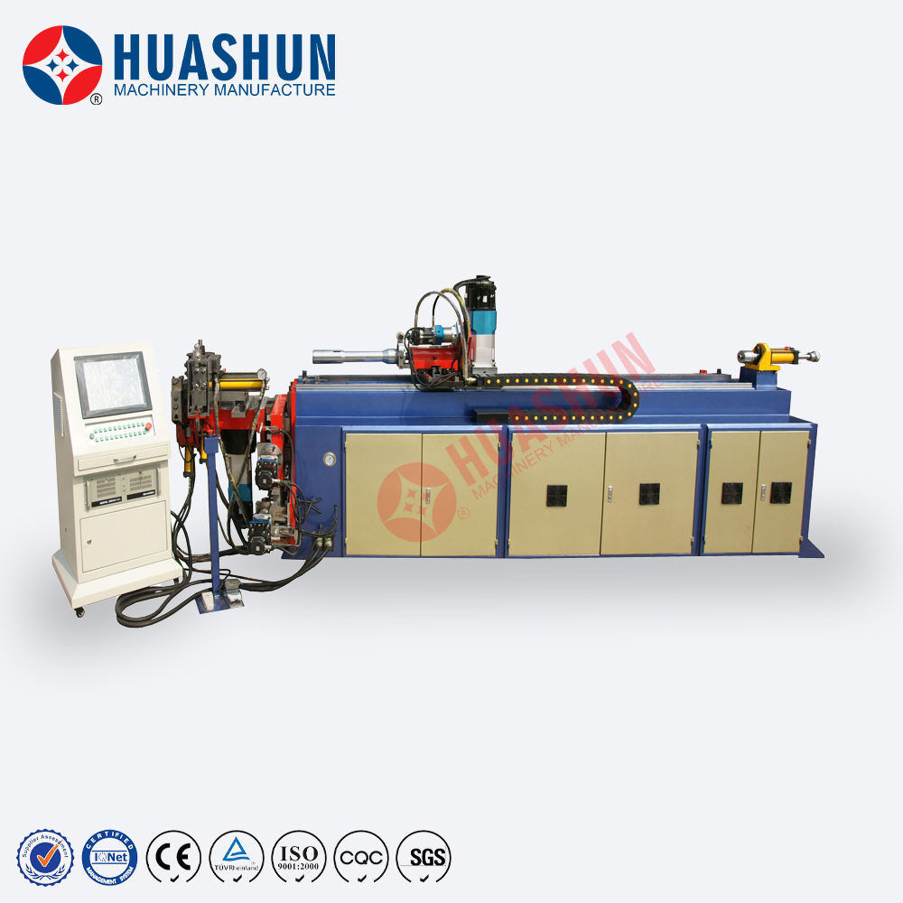 HS-SB-38CNC-5A-3S 5 Axis CNC Machine Tube Bender Stainless Steel Pipe Bending Machine