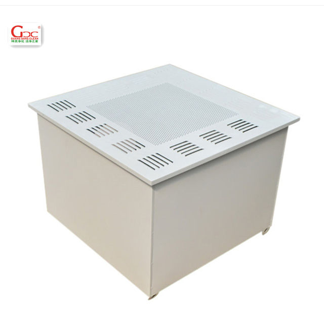 Cleanroom Air HEPA Filter Box with Smooth Diffuser Plate