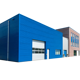 Assembled Prefab Metal Warehouse Insulated Steel With Office And Workshop