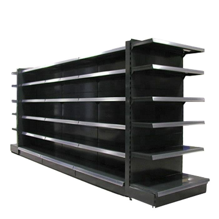 2020 Hot Sale Double Side Metal Supermarket Shelf With Good quality