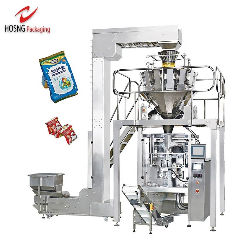 Factory Selling High Precision Automatic Weighing Pouch Small Snack Food Potato Chips Packing Machine