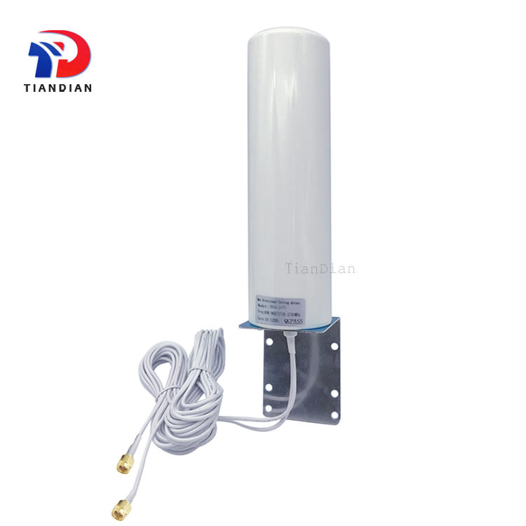 Outdoor waterproof router wireless antenna Omni-directional 12dBi Lte combo 2x2 Mimo 4g Antenna