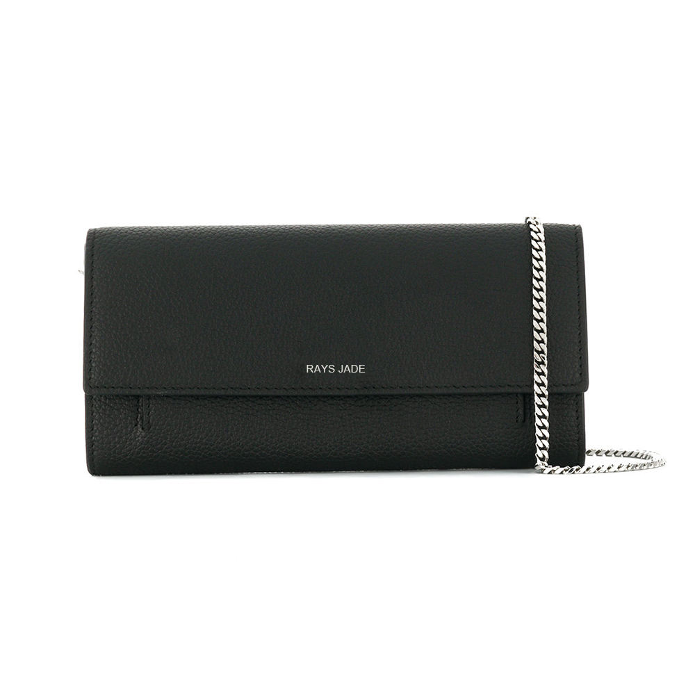 Letter [ Party Bag ] Party Bag China Supplier Custom Luxury Designer Party Evening Bag Ladies Leather Clutch Wallet With Chain Strap