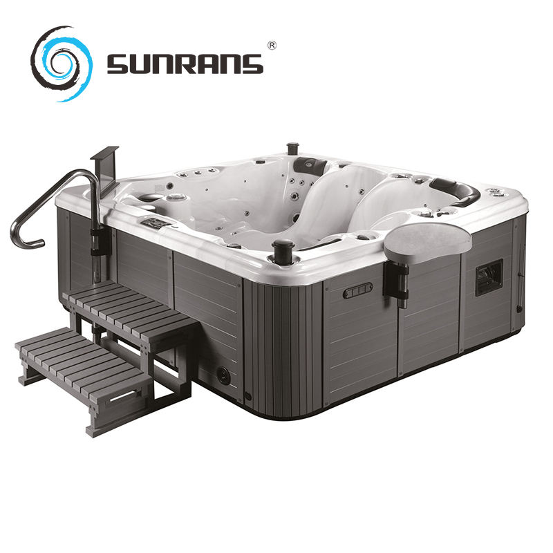 Sunrans SR862 acrylic air blower support 5 persons outdoor spa