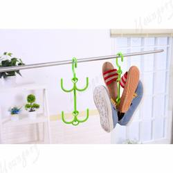 Plastic Hooks Shoes Hanger Shoes Drying Rack