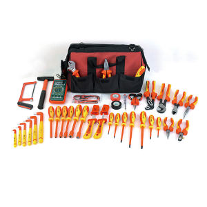 38pcs professional VDE hand tools set pliers and screwdriver electrician tool kit