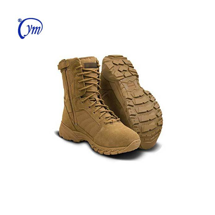 OEM Men Combat Jungle Hiking Police Tactical Army Military Shoes Desert Boots
