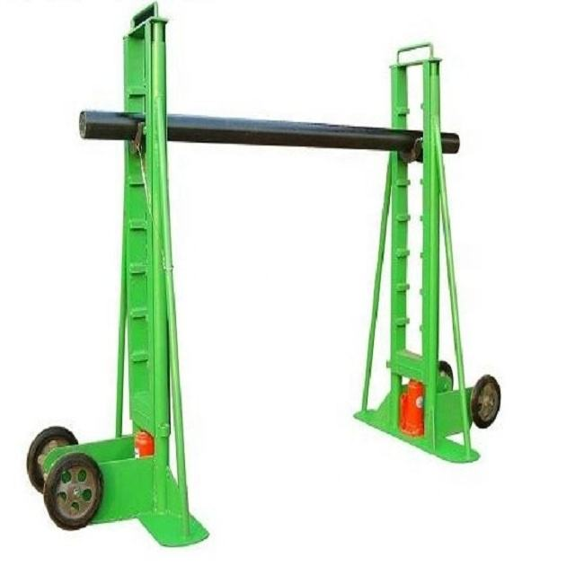 Stringing Equipment Grounding Cable Reel Stand