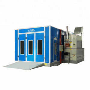 CE Approved Spray Baking Cabin for Auto Body Repairment