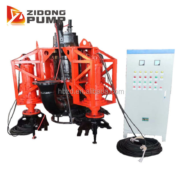 High quality portable hydraulic sand dredging pump for boat