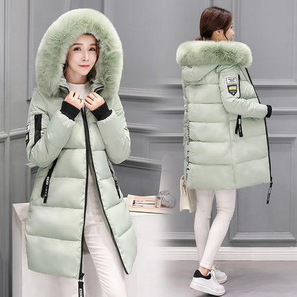 Outwear Long Cheap Fur Down Jacket Hood Coat Winter Women Windbreak Casacos De Mulher
