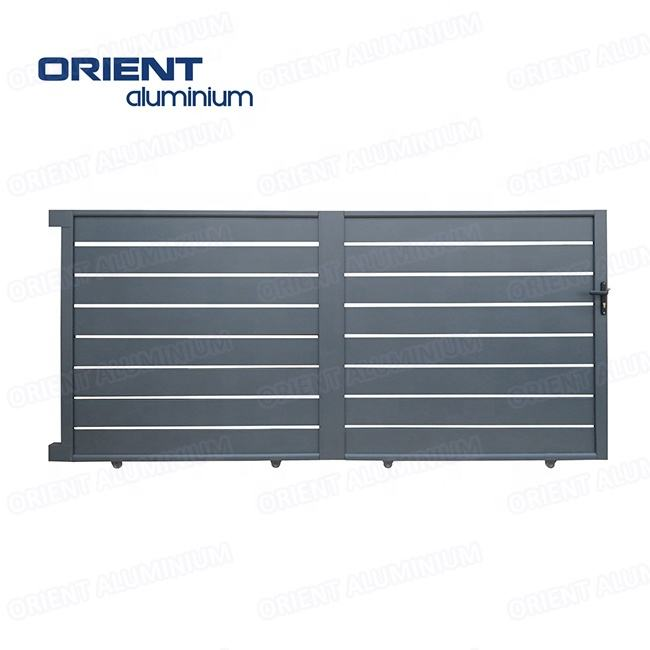 beautiful and durable aluminium entrance gate for Europe market