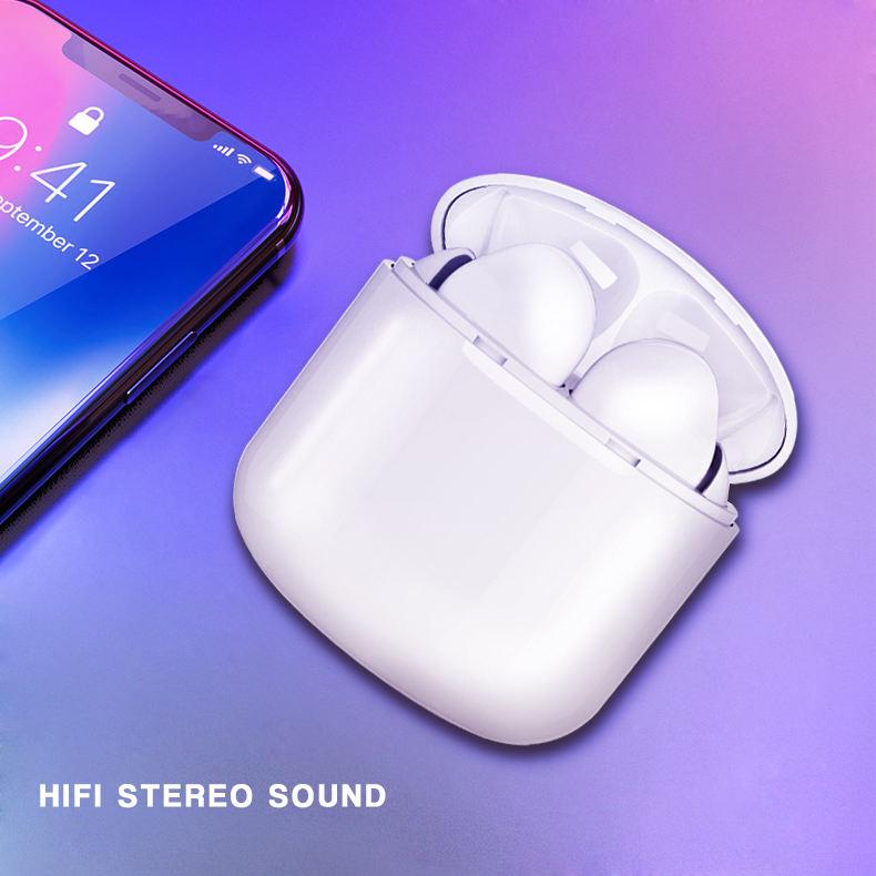 Mini auricular Bluetooth inalámbrico estéreo TWS en la oreja los auriculares de cancelación del ruido auriculares impermeables