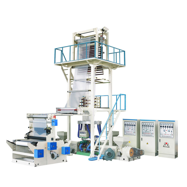 Factory Price Biodegradable Polythene Plastic Shopping Bag Making Machine