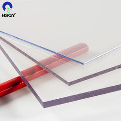 Thick Rigid Clear Transparent Extruded PET Plastic Sheet