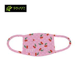 Personalized Wholesales Washable Blank White Sublimation Textile Facemask for Mask