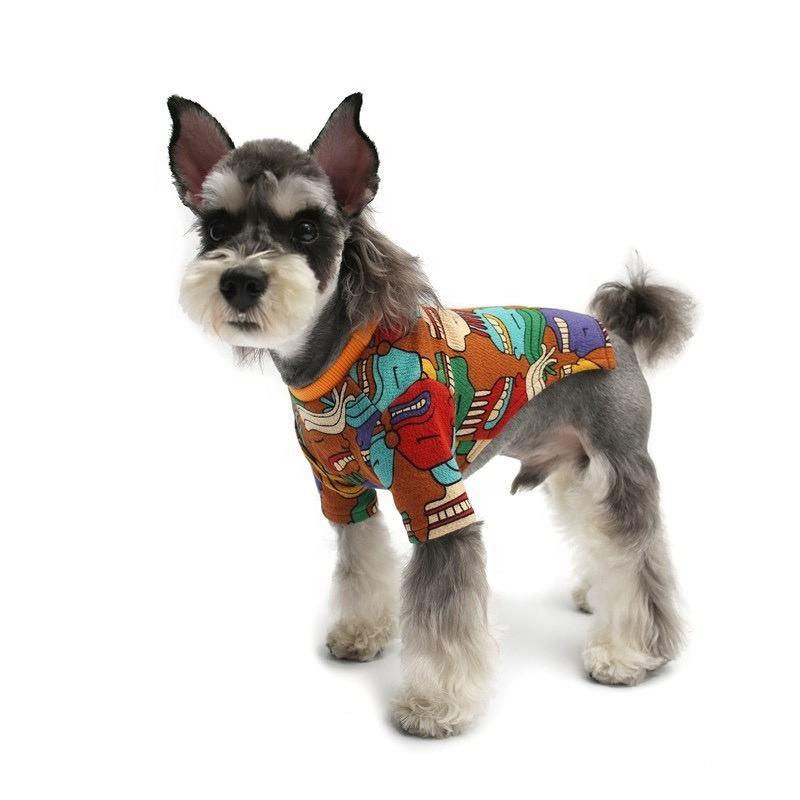 Dog Clothes Wholesales Soft Cotton T-shirt Pet Supplies Dog Clothes Pet Accessories Dog Fashion Brand Clothes Pet Products 2020