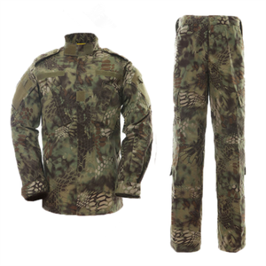 Hohe Qualität Großhandel China Military Uniform mit Camouflage Farbe