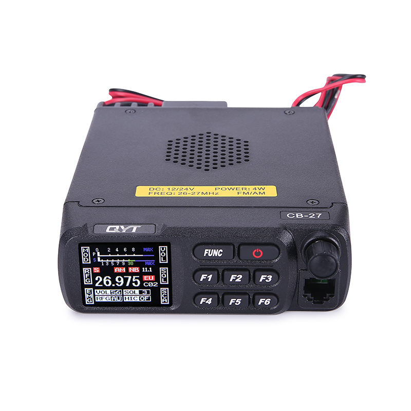 QYT CB-27 AM FM Citizen band color screen hf transceiver mobile car radio high power base radio