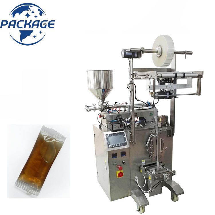 Full Automatic Liquid Pouch Hotel Dry Hair Shampoo Detergent Pods Sachet Packing Machine