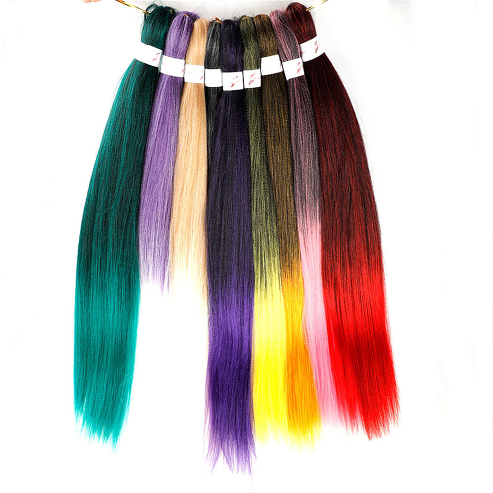 Nigeria South Africa Ready To Ship Different Types Of Weave Hair Fiber Curly Hair Synthetic Ez Braid