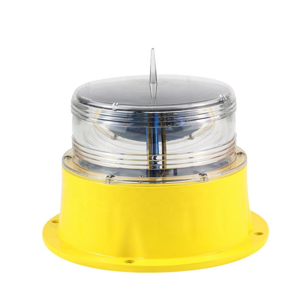 5NM Solar powered panel Marine Navigation to Aids light flashing LED lantern for waterways