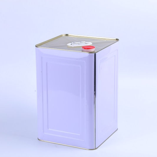 Manufacturer Customized 5 gallon/20 Liter Chemical Square Paint Barrel Metal Tin Can/Bucket/Drum/Pail with handle and Lid