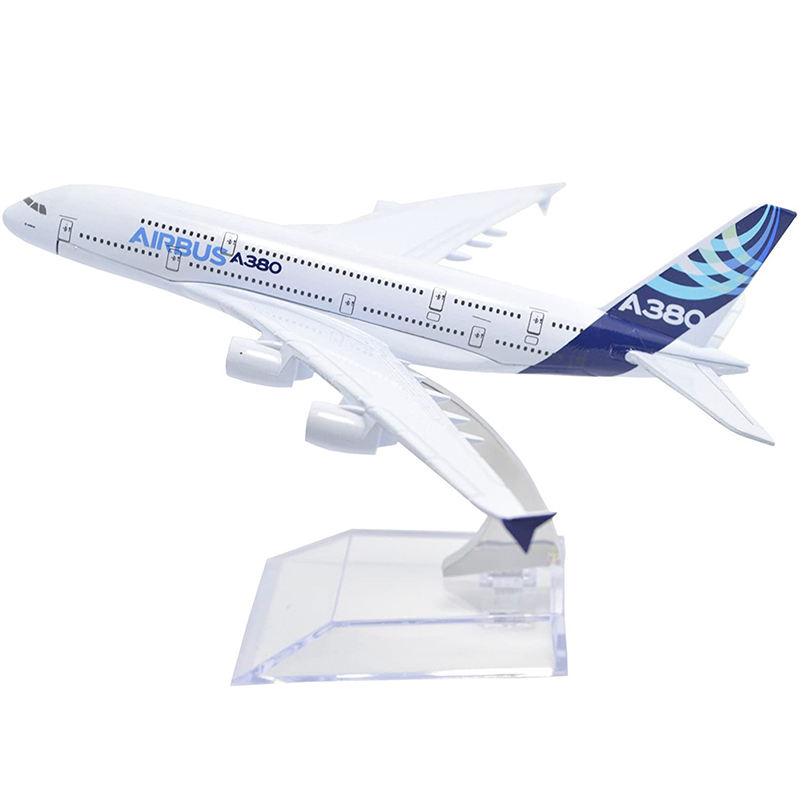 16CM Diecast Aircraft A380 Metal Toy Vehicle Model Airline Gift Toys Different Countries Model OEM