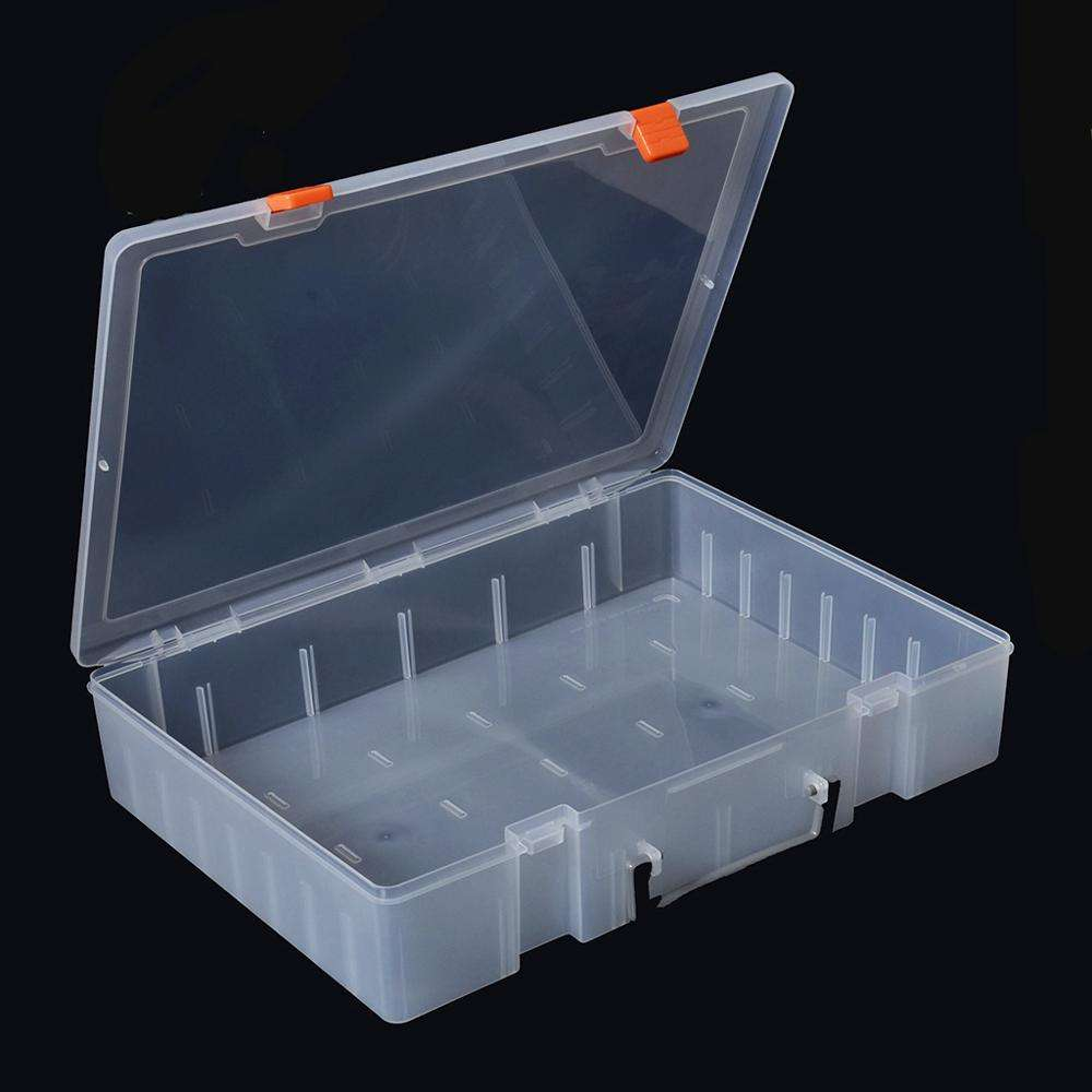 Jewelry Plastic Storage Custom Design Compartments Electronic Tool PP Gift Box